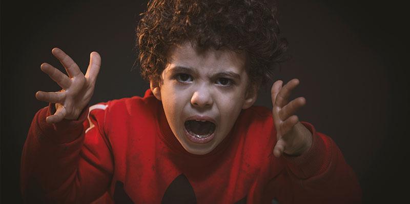 Boosheid bij kinderen